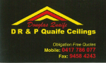 DR & P Quaife Celings