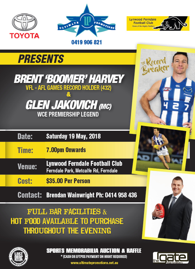 Brent Harvey Night