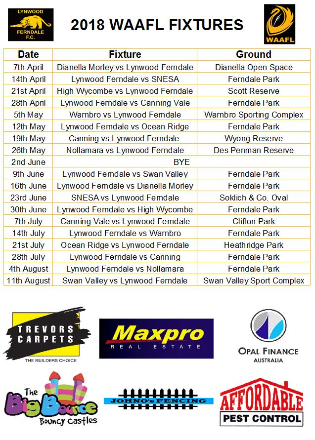 2018-Fixtures