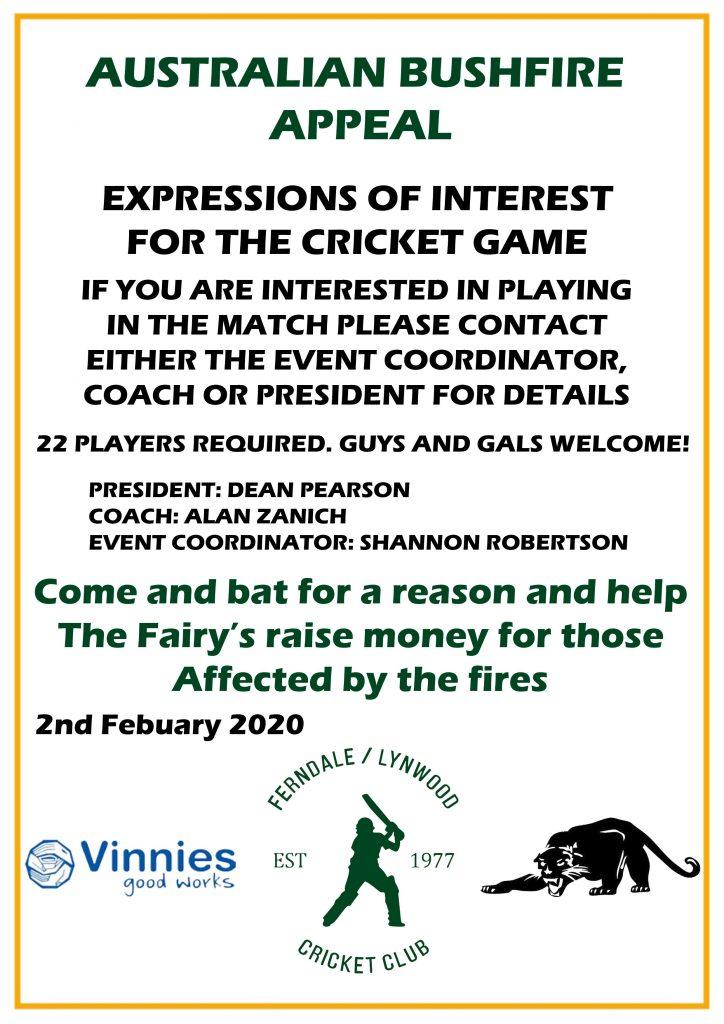 Bushfire Expression Of Interest
