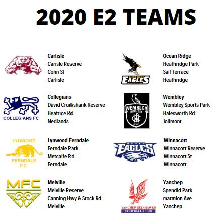 2020 Teams